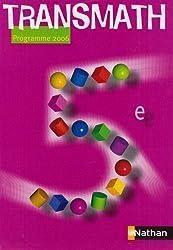 Math 5e : Programme 2006