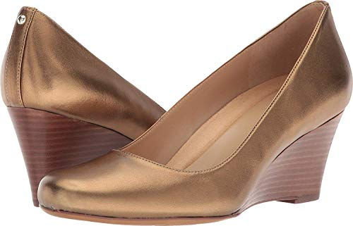 Naturalizer Women's Pump Aged Gold Emily Leather rxarpqRST