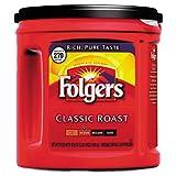 Folgers Coffee Classic Roast Regular Ground 33.9 oz Can