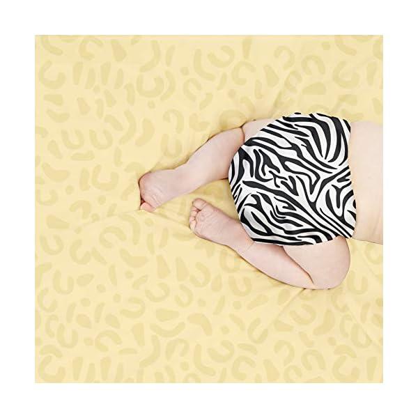 Bambino Mio, mioduo pannolino lavabile in due pezzi, tracce di savana, taglia 1 (<9 kg) 3