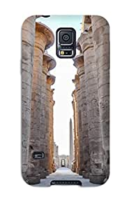 Luis Castro's Shop New Style Galaxy S5 Hard Back With Bumper Silicone Gel Tpu Case Cover Great Hypostyle Hall In Karnak Temple 9124398K48734727