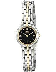 Citizen Womens Eco-Drive Stainless Steel Watch, EW9334-52E