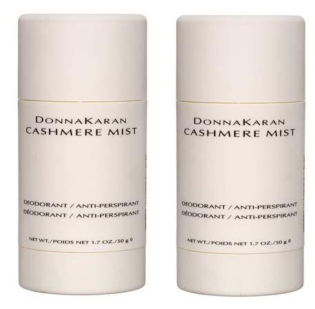 Donna Karan Cashmere Mist Deodorant / Anti-Perspirant 1.7 oz (Pack of 2) (Donna Karan Cashmere Mist Deodorant / Anti Perspirant)