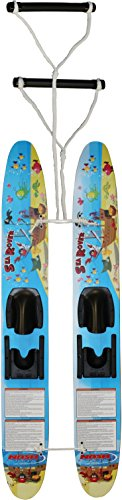 Hydroslide Kid's Trainer Water Skis, Blue, 48-Inch (Best Ski Boots For Kids)