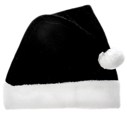 1de97d9af8621 Century Novelty Classic Black Santa Hat - Buy Online in UAE ...