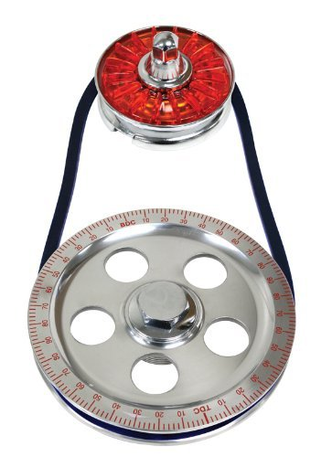 Empi 00-8650-0 VW Type 1, 2 & 3 Standard Size Red Pulley Kit w/Red Cover