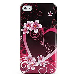 DUR Protective Retro Style Polycarbonate Case for iPhone 4 and 4S (Flower)
