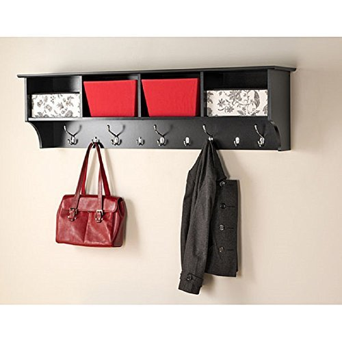 60 inch Wide Hanging Entryway Shelf by Prepac, Broadway