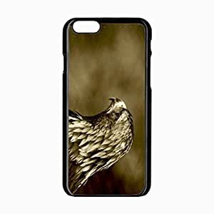 iPhone 6 Black Hardshell Case 4.7inch predatory bird Desin Images Protector Back Cover