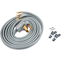 ACUPWR A103010 3-wire Dryer Power Cord 10 with Safe Power Coating Technology, Comes with Volt Connect Hardwire Kit