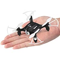 Mini Pocket Drone Syma Newest X20 Headless Mode 2.4Ghz Nano LED RC Quadcopter Altitude Hold Black