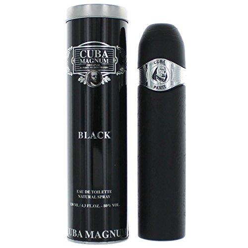 Cuba Magnum Black By Cuba For Men, Eau De Toilette Spray, 4.2-Ounce Bottle