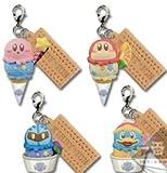 3ds japan kirby - Ichiban kuji Kirby Ice Cream G Charm Key chain 4P Japan New Banpresto