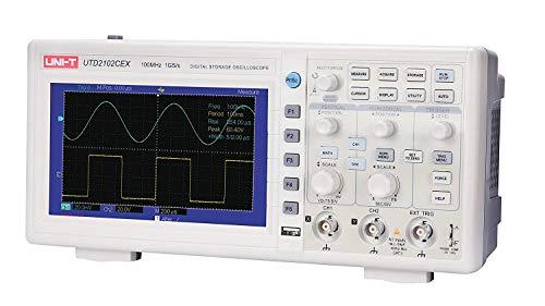 UNI-T 7730071 Digital Storage Oscilloscope, White/Grey by Uni-T (Image #2)