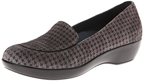 Dansko Women's Debra Slip-On Loafer,Grey Houndstooth,40 EU/9.5-10 M US by Dansko