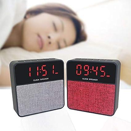 a4a87b16cb1 RADIO RELOGIO DESPERTADOR LED CAIXA DE SOM BLUETOOTH COM FM