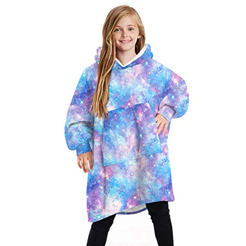 Oversized Hoodie Deken Sweatshirt Draagbare Deken Winter Warme Pluche Dieren Capuchon Sweatshirt met Pocket, Pullover…