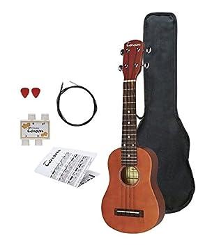 Tenson F502820 - Ukelele soprano, color marrón: Amazon.es: Instrumentos musicales