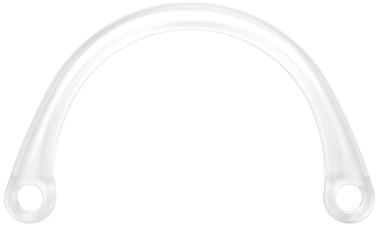 Sunbelt Fasteners Plastic Purse Handle 8-Inch X5-Inch U-Shaped-Clear Notions - In Network P76-CL