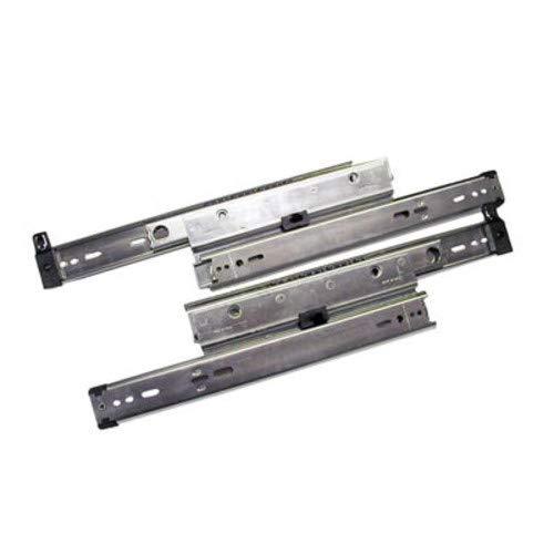 Knape & Vogt Kv8505 P30 30 In. Full Extension 150 Lb. File Drawer Slides With Overtravel - Zinc
