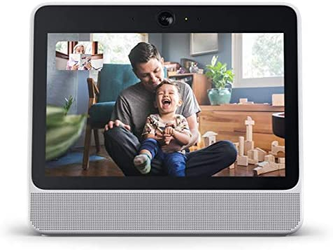 Facebook Portal  Smart, Hands-Free Video Calling with Alexa Built-in