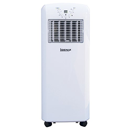 Igenix IG9902 3-in-1 Portable Air Conditioner with Cooling, Heating and Fan...