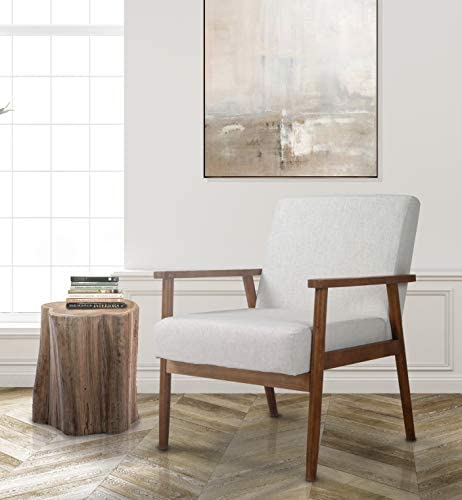 Merakii Wood Frame Accent Chair - the best living room chair for the money