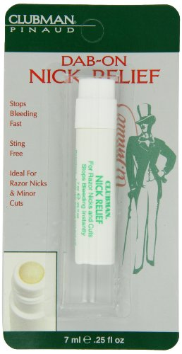 Clubman Pinaud Dab-On Nick Relief, 0.25 Ounce