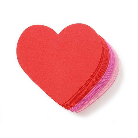 36 Piece Large Foam Heart Shapes
