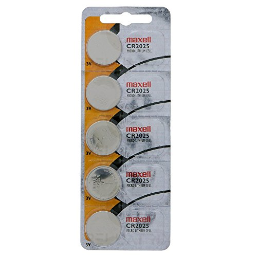 - Maxell Cr2025 - 3V 5 Pack
