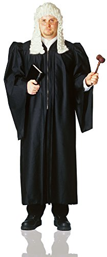 Deluxe Judge Robe, Fits Up To Size 48