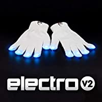 As Seen on Shark Tank EmazingLights Electro LED Light Up Glove Set 2.0