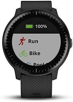 Garmin Vivoactive 3 Music GPS Smartwatch w// Music Storage /& Built-in Sports Apps