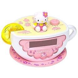 HELLO KITTY Digital AM/FM Clock Radio with Night Light