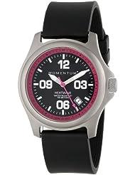 Momentum Womens 1M-SP17F1B HEATWAVE Titanium Analog Date Watch