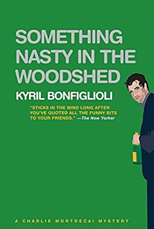 book cover of Something Nasty in the Woodshed