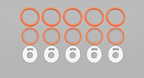 TFV8 Oring Silicone Seals Gasket Cloud Beast O Rings Rubber Bands (TFV8 Oring(5 Sets))