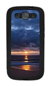 Samsung Galaxy S3 I9300 Case,Samsung Galaxy S3 I9300 Cases - The crack of dawn TPU Polycarbonate Hard Case Back Cover for Samsung Galaxy S3 I9300¨CBlack