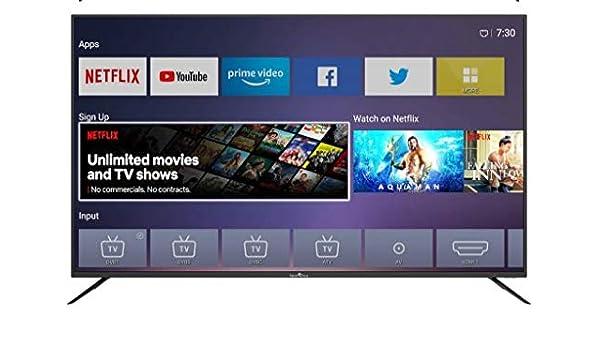 Smart Tech - TV LED UHD 4K Netflix/Youtube 65
