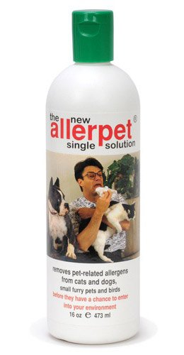 Allerpet 10016 Single Solution for Pets 16oz, My Pet Supplies