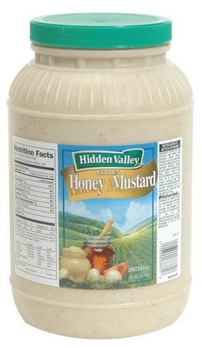 Hidden Valley Golden Honey Mustard Dressing, 1 Gallon -- 4 Per Case by Ventura Foods