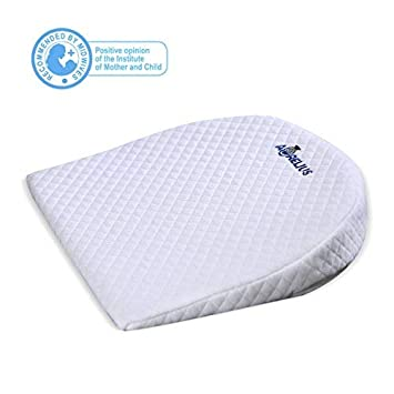 Baby Baby Wedge Pillow Crib Cot Bed Anti Colic Cushion Flat Head Foam Reflux Suppuort