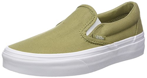 Vert Canvas mono Adulte Classic Slip Baskets Enfiler Mixte on Vans W6Uwzgq0z