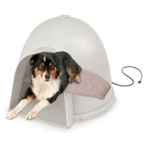 K&H Pet Products Lectro-Soft Igloo Style Outdoor Heated Bed Medium