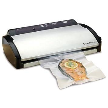 FoodSaver V2490BC Advanced Vacuum Food Sealer Packaging System Black Stainless