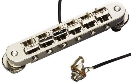 Schaller シャーラー ギター用ブリッジ GTM Piezo 45060P/Nickel (国内正規品) B00G9W15RK