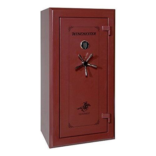 Winchester Safes S-6030-14-E Silverado 26 Gun Safe with Electronic Lock