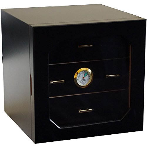 (H&H Mystic Collection - Cigar Humidor (Black Box))