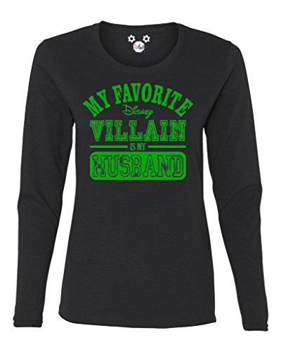 Halloween Villains Disney (My Favorite Disney Villain Is My Husband Long Sleeve,)