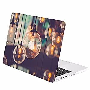 "TOP CASE - Graphics Rubberized Hard Case Cover for MacBook Pro 13"" with Retina Display Model: A1425 / A1502 (Release 2012-2015) - Brilliant Light"